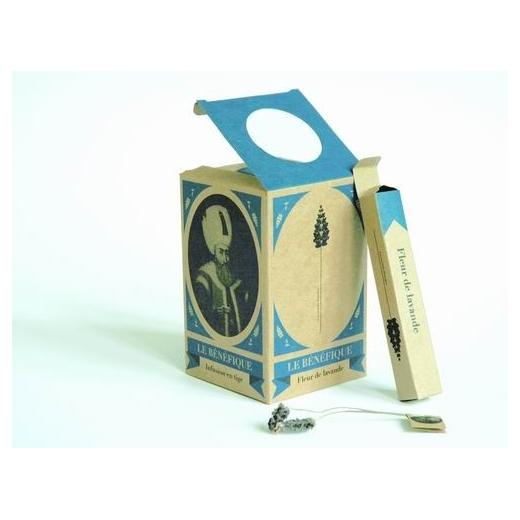 infusion de fleur de lavande en tige box the envouthe envoutheque