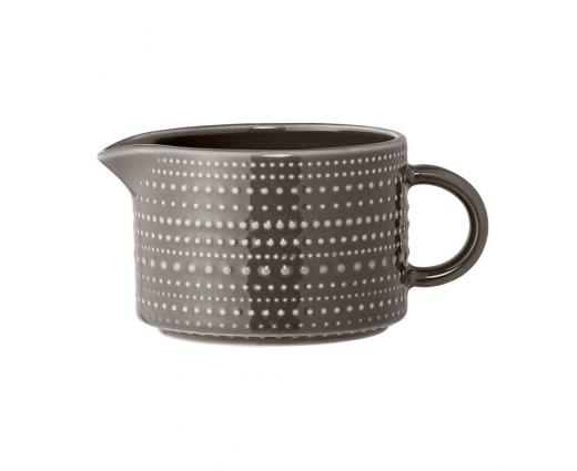 Le Pot à lait porcelaine brun
