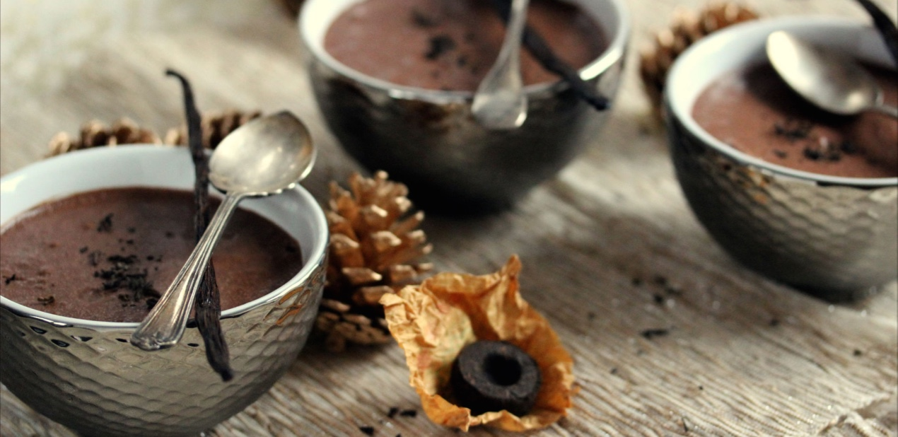 Mousse chocolat-thé Pu Erh vanille Mademoiselle Thé