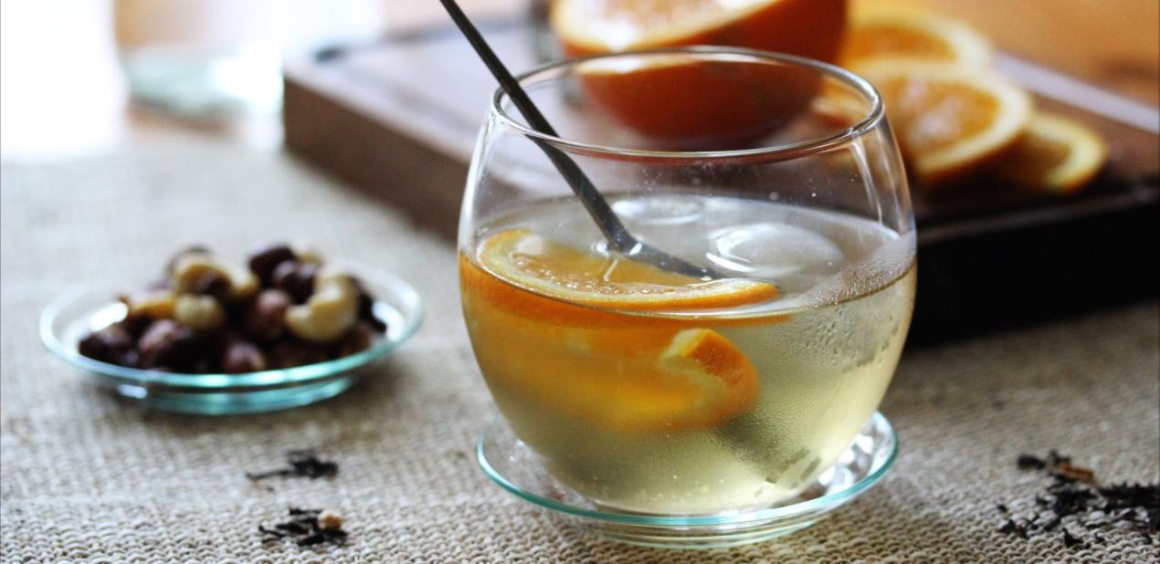 Cocktail Nikita au thé Goût Russe Douchka de Dammann Frères