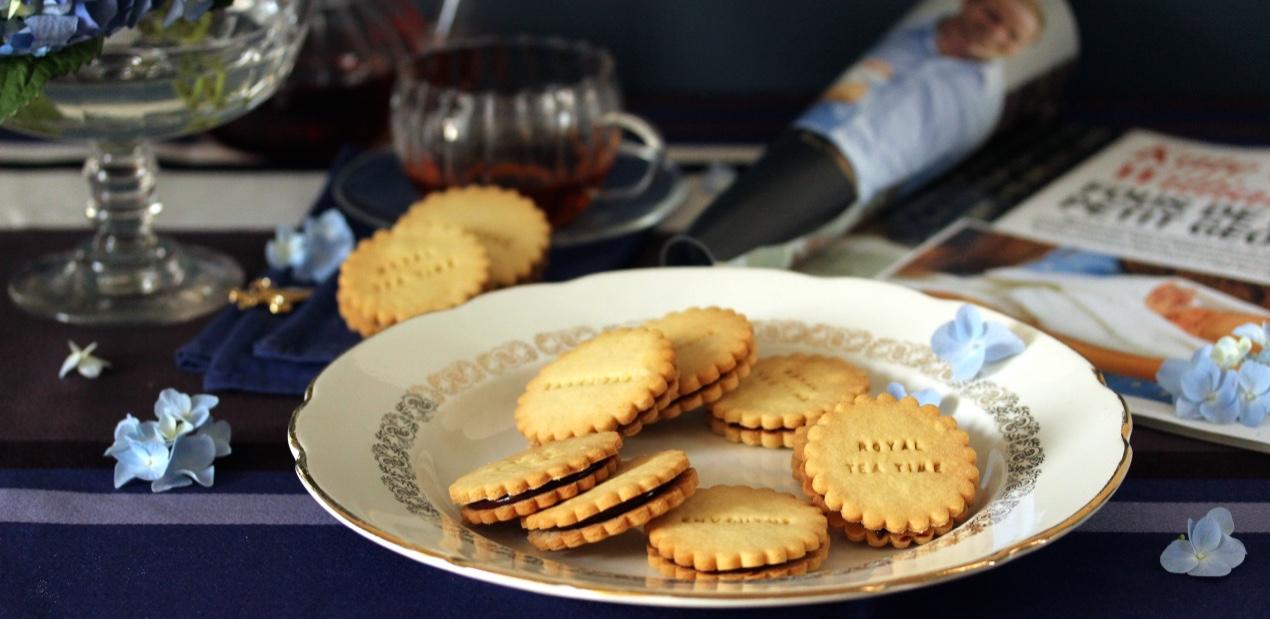 Biscuits des princes à déguster avefc les thés de la Box Un thé à la cour