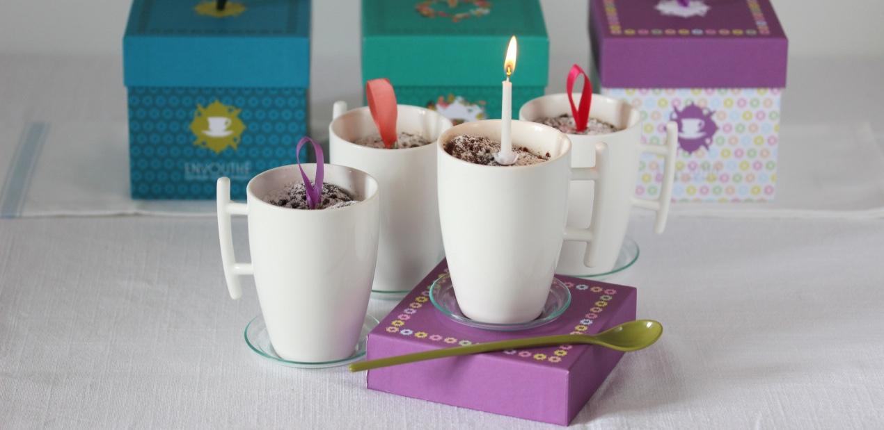Mug cake chocolat, cannelle et orange au rooibos Magie d'Afrique de La Route des Comptoirs