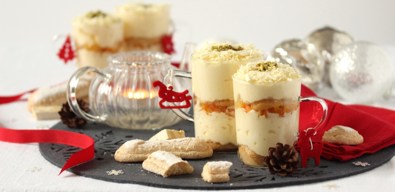 Tiramisu de Noël au thé des 13 desserts de aix & terra