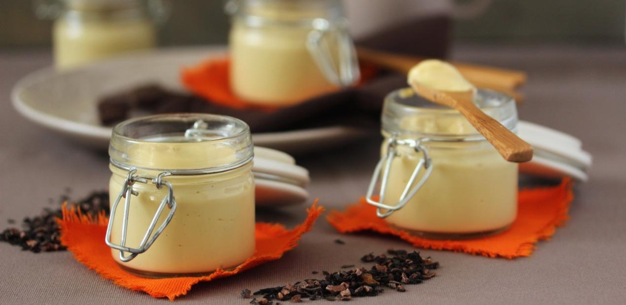 Crème dessert au thé Fée Clochette de Vert-Tiges