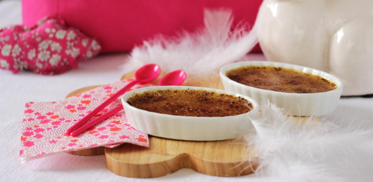 Crèmes brûlées au thé Je t'aime de Nina's Paris