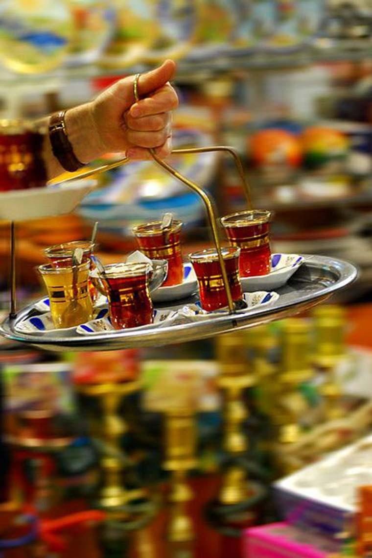Le thé en Turquie - Le thé en Orient - Envouthe.com