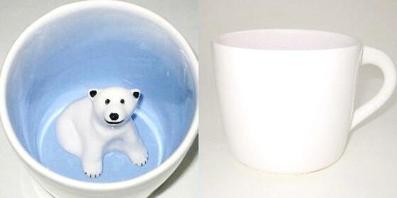 Un mug-ours de Spademan Pottery