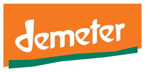 Le label Demeter qui certifie les thés des Jardins de Gaïa