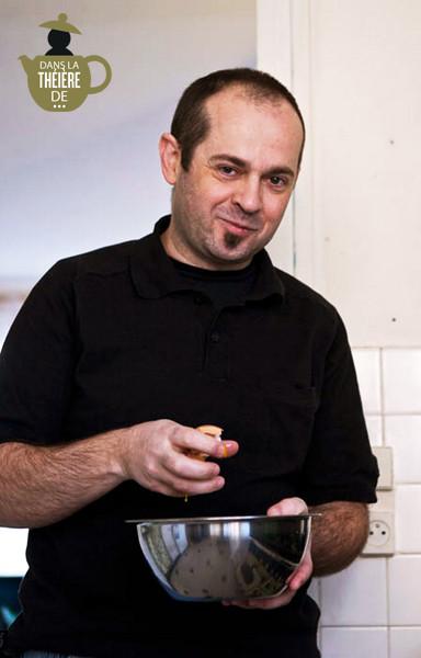 Dorian Nieto en cuisine