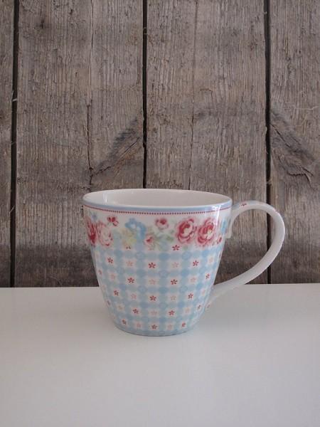 Le mug SUmmer White à motifs Liberty