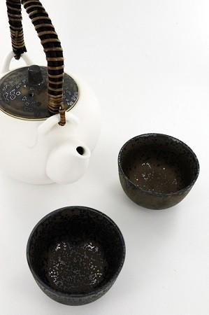 Le service à thé Golden Snow de THEODOR