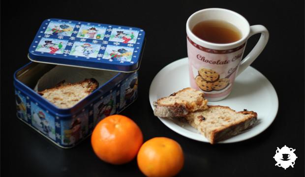Un teatime de Noël en Moselle : du stollen, des mandarines et du thé