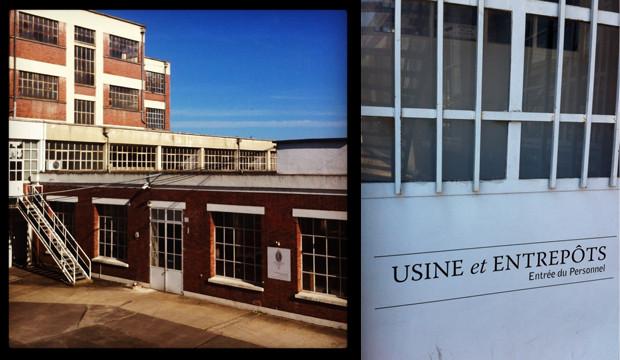 Les portes de l'usine de la maison THEODOR
