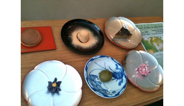 Pâtisseries japonaises du salon de thé Waluku