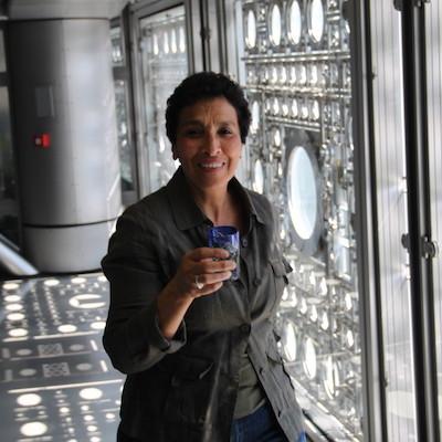 Entretien avec Aïcha Idir-Ouagouni à l'Institut du Mond arabe