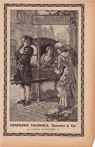 Une publicité de 1905 pour Compagie Coloniale