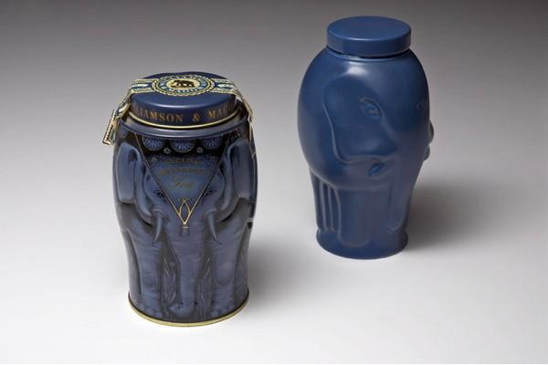 Boîte de thé éléphant de Williamson Tea