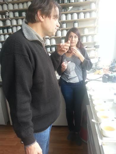 Olivier Scala et Julia Roubaud, fondatrice d'Envouthé