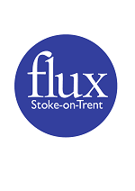 Le logo de Flux Stroke-on-Trent