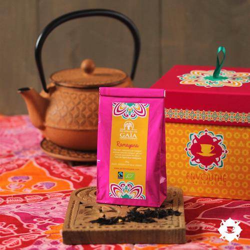 Le thé noir Ramayana des Jardins de Gaïa