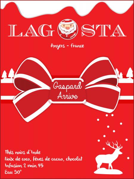 Gaspard Arrive de Lagosta