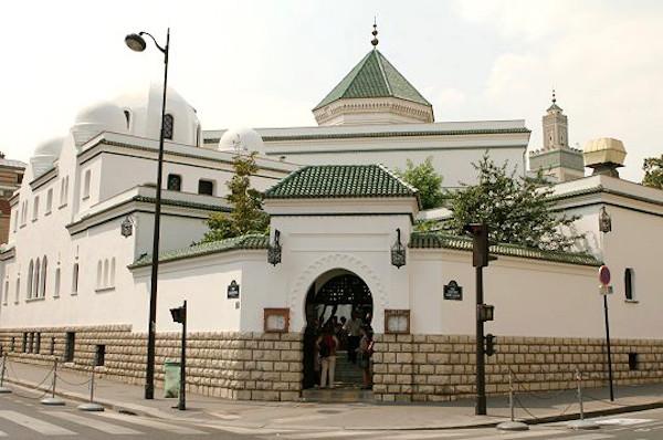 Entrée de la grande Mosquée de Paris