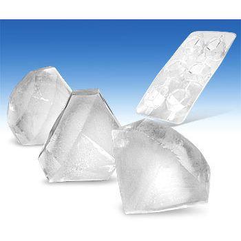 Moule à glaçons en forme de diamants