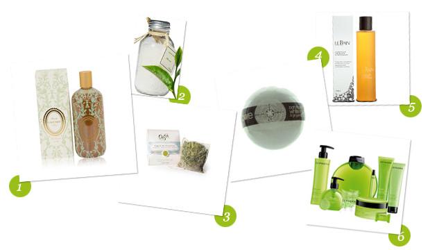 Notre sélection de produits pour le bain au thé