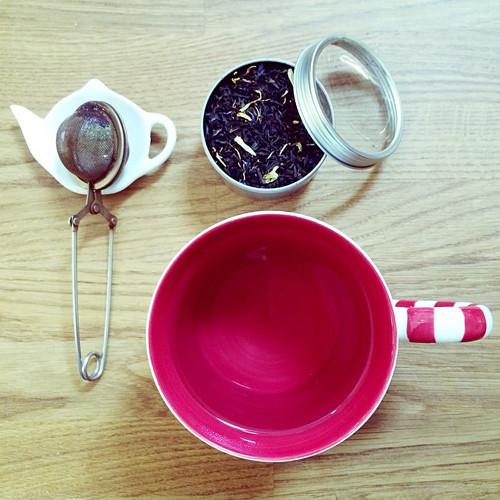 Préparation pour le thé chez Faust'in