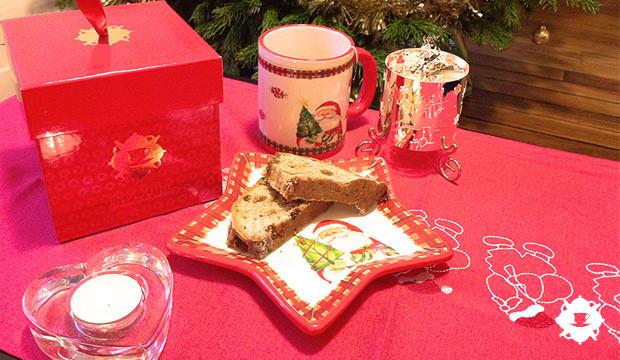 Un teatime de Noël en Moselle : la Box Envouthé de Noël, un Stollen et du thé