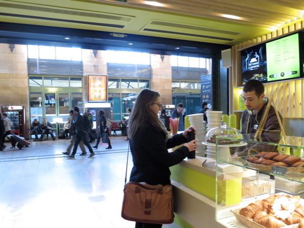 La boutique Tekoe de la gare de Lyon