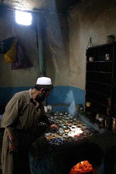 Marchand de thé à Kaboul