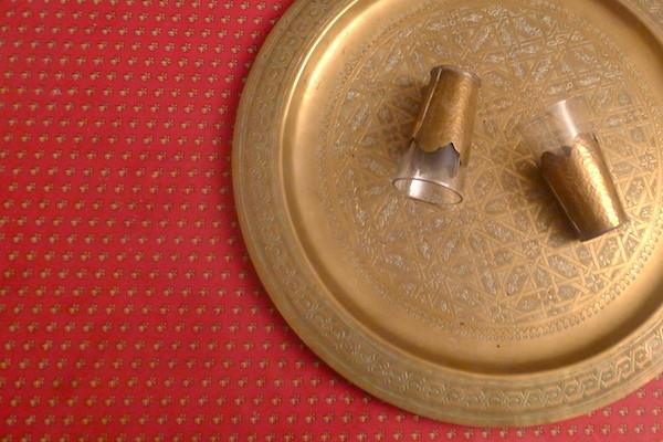 Des verres à thé marocains Aïcha Idir-Ouagouni