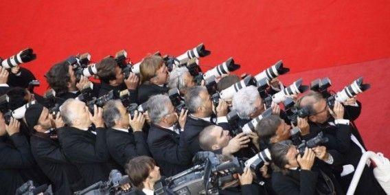 Les paparazzis au festival de Cannes