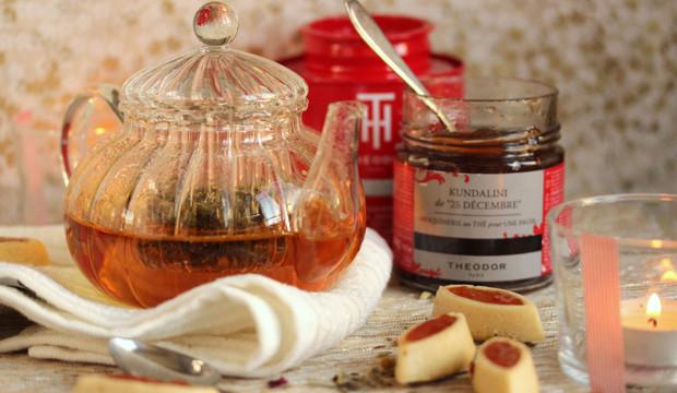 La recette de petites barquettes avec une pâte à génoise garnie de kundalini 25 Décembre de Sophie Mülhens