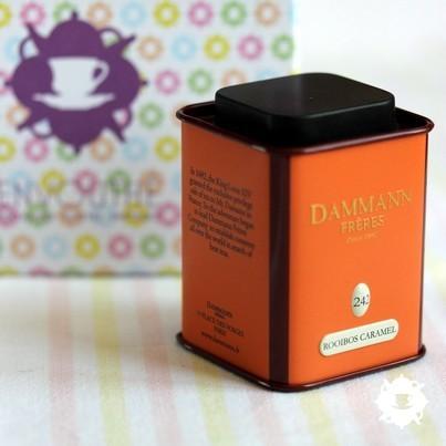 Le rooibos Caramel Toffee de Dammann Frères