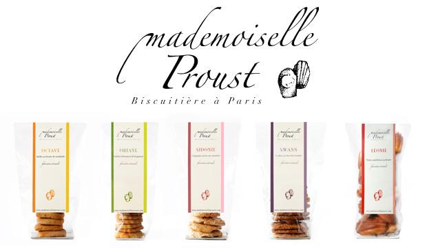 La gamme de biscuits de Mademoiselle Proust
