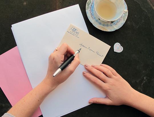 Une lettre de Lettres d'un Inconnu