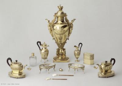 Service à thé de Napoléon 1er, 1810.