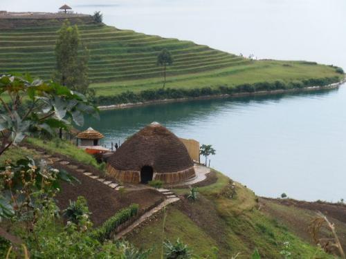 Lac Kivu, Rwanda.