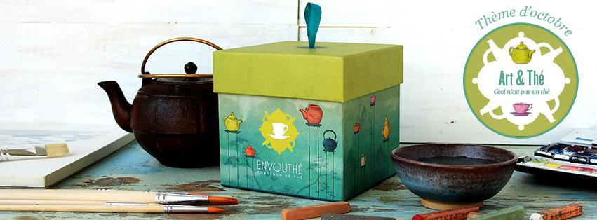 Box Envouthé Art & Thé Ceci n'est pas un thé