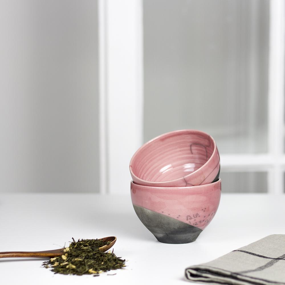 bols moyen raku rose razzanti