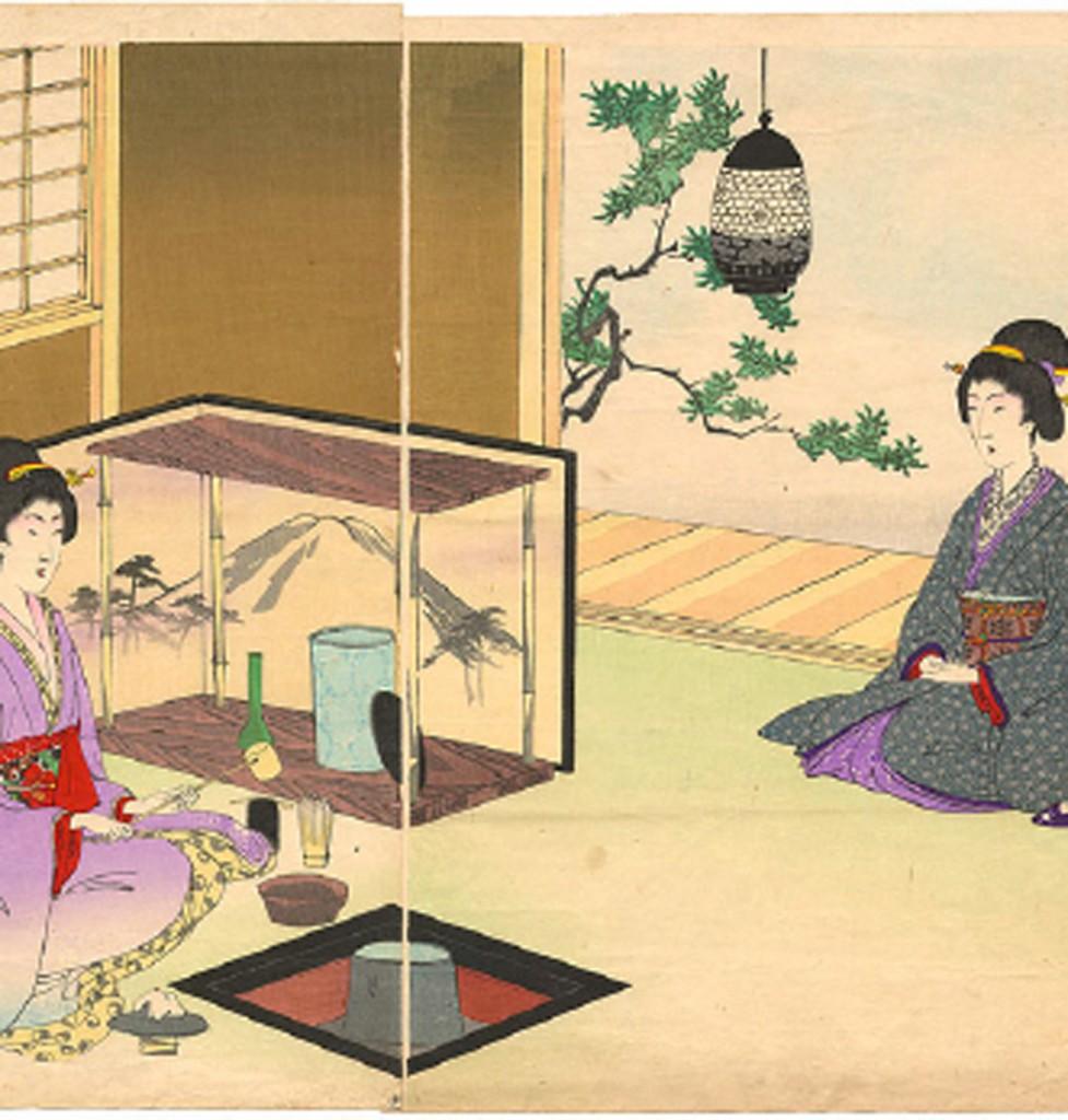 peinture japon box the envouthe