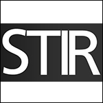 stir logo box the envouthe