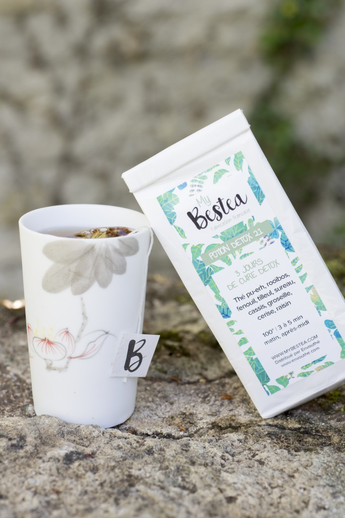 Potion Detox 21 Mybestea, Box La Vertueuse | Photo Anne-Emmanuelle Thion
