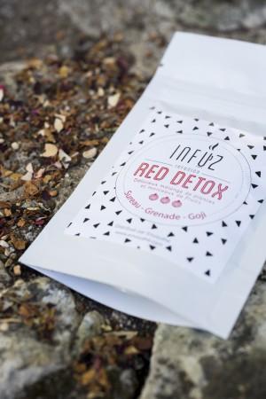 Red Detox d'Infuz, Box La Vertueuse Envouthé