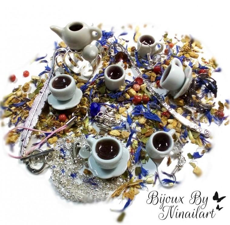 "Collection ""Tea Time"" Bijoux by Ninailart"
