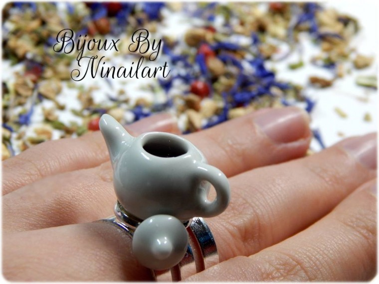 "Collection ""Tea Time"" Bijoux by Ninailart"